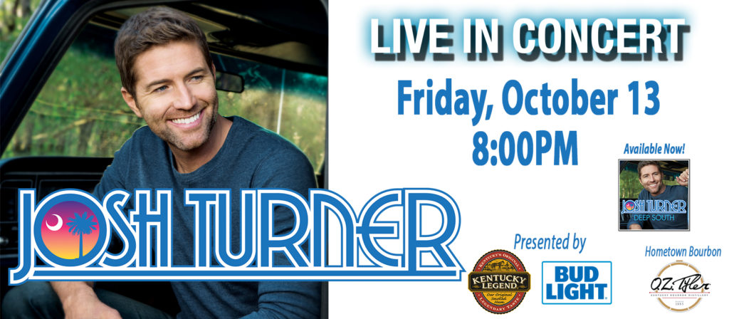 Josh Turner Live in Concert Presented by Kentucky Legend and Bud Light