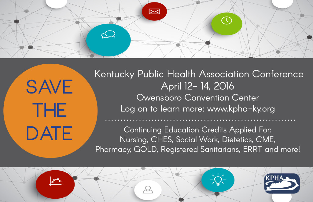 2016 KPHA Save the Date