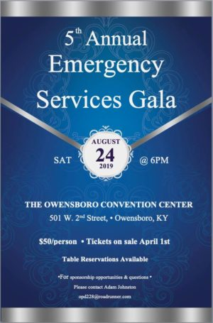 5th Annual Emergency Services Gala