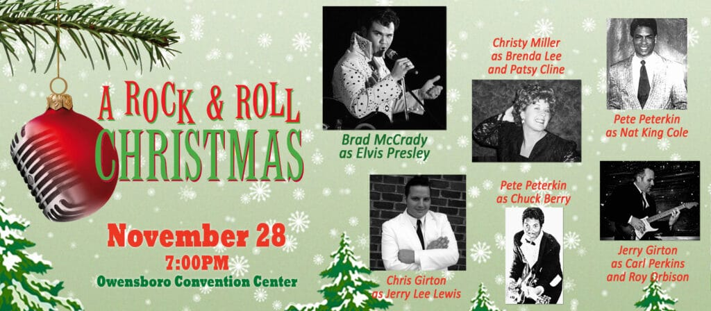 Rock And Roll Christmas 2020 A Rock & Roll Christmas – Owensboro Convention Center