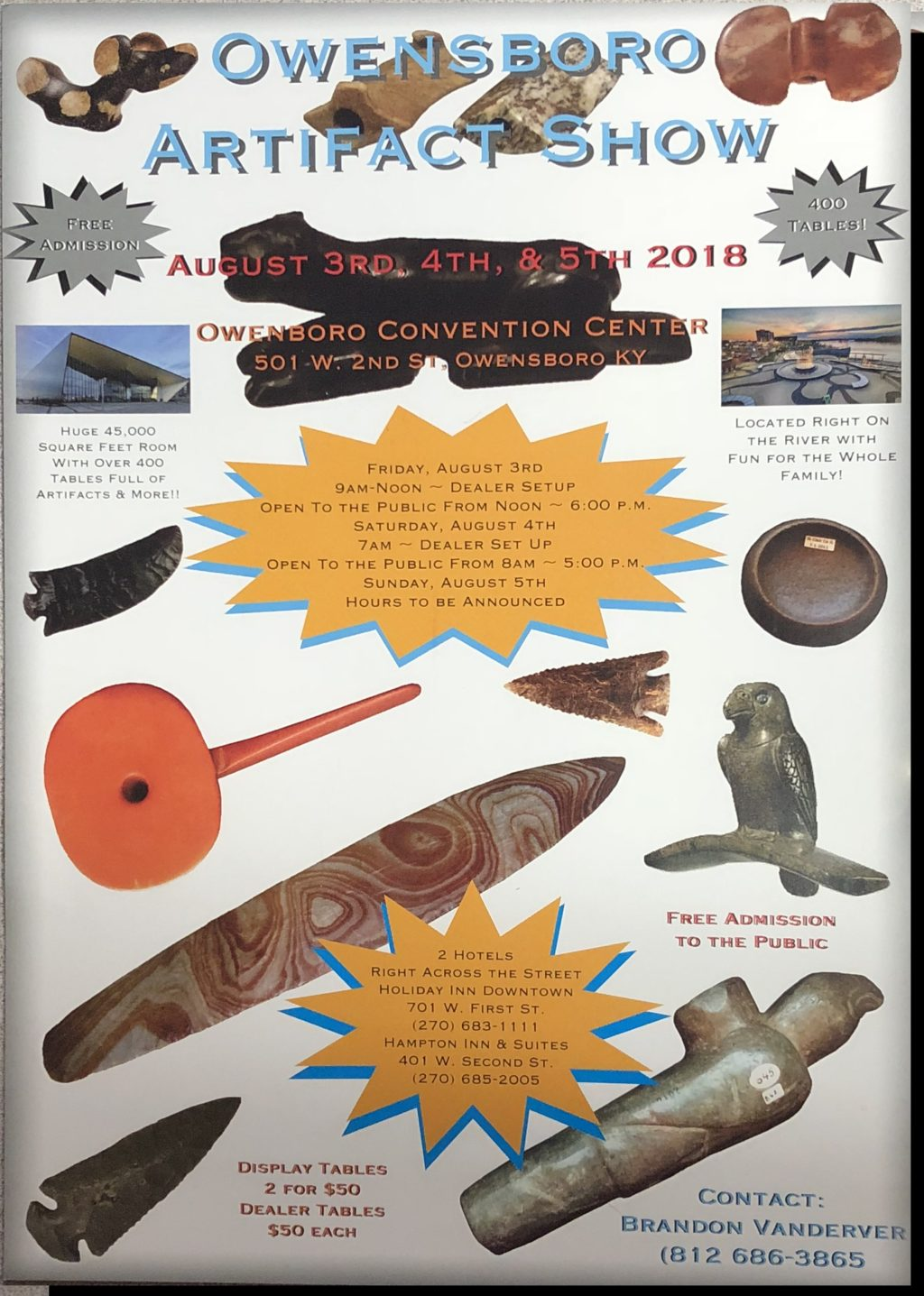 Owensboro Artifact Show