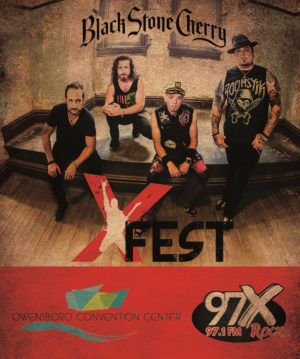 X-Fest 2017 featuring Black Stone Cherry @ Owensboro Convention Center | Owensboro | Kentucky | United States