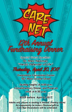 Care Net Pregnancy Center's 12th Annual Fundraising Dinner @ Owensboro Convention Center | Owensboro | Kentucky | United States