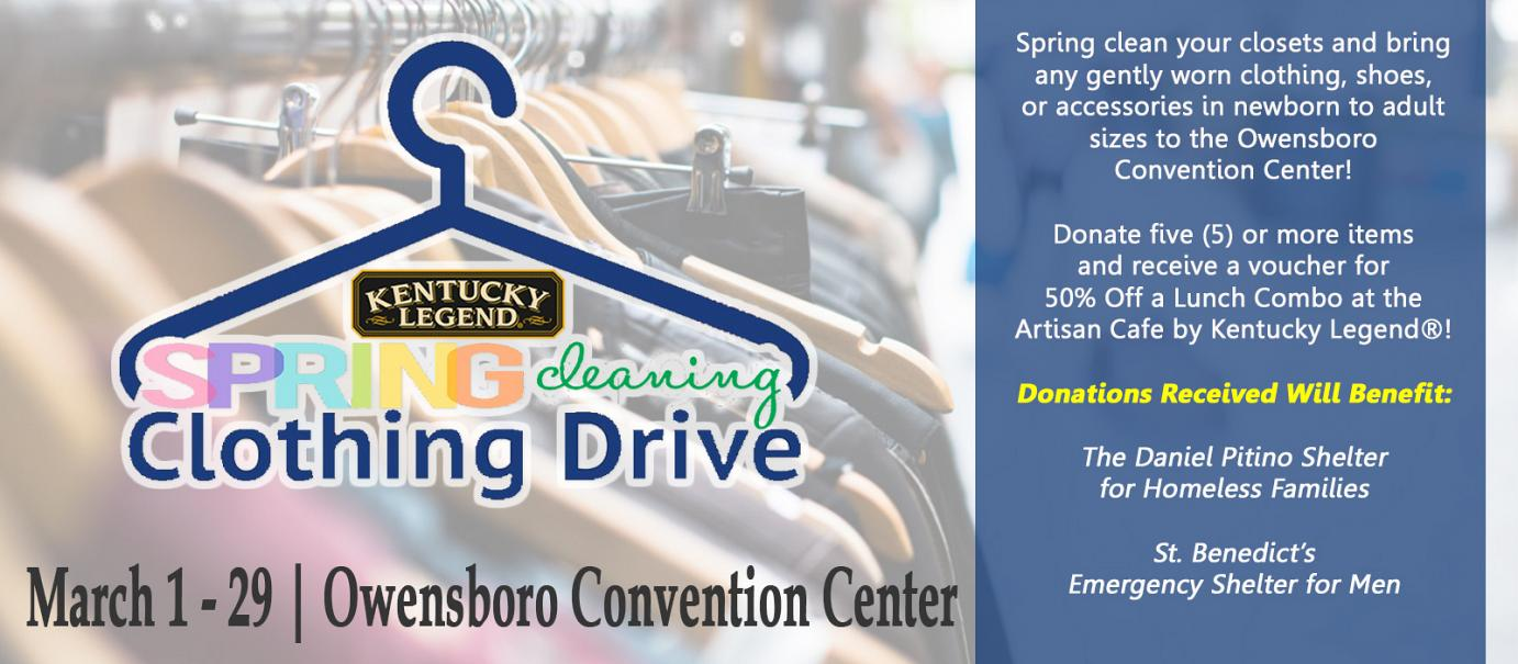 Ky Legend Clothing Drive