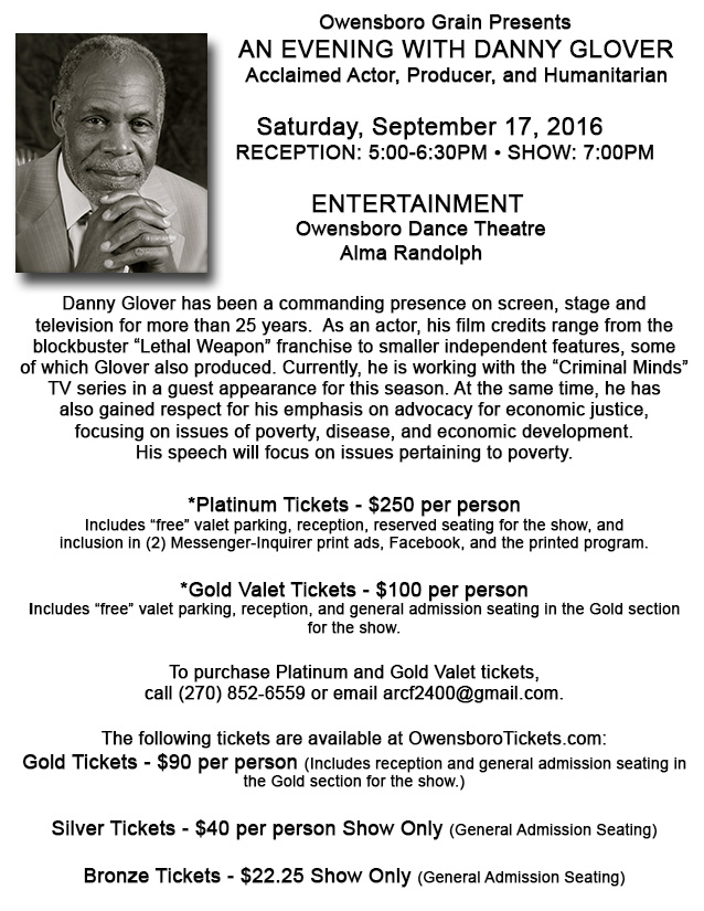Danny Glover web flyer