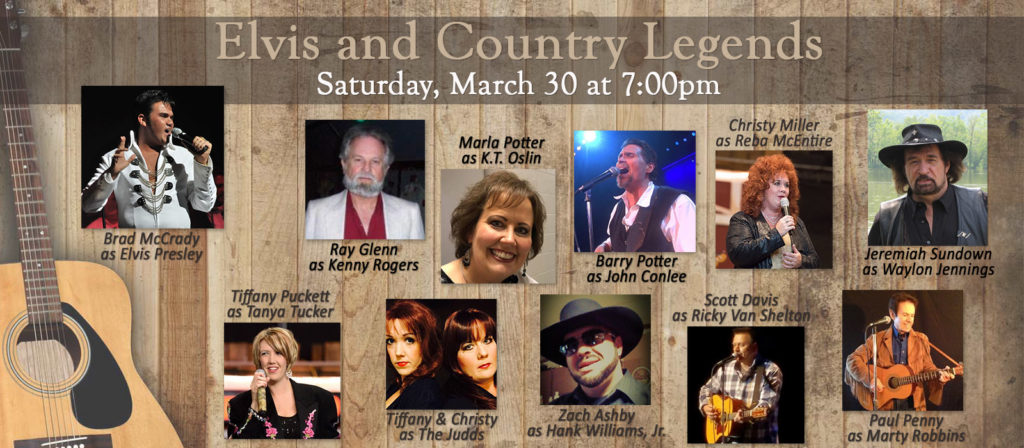 Elvis and Country Legends