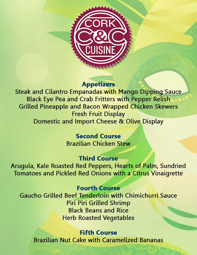 Cork & Cuisine – Brazil Carnival – Owensboro Convention Center
