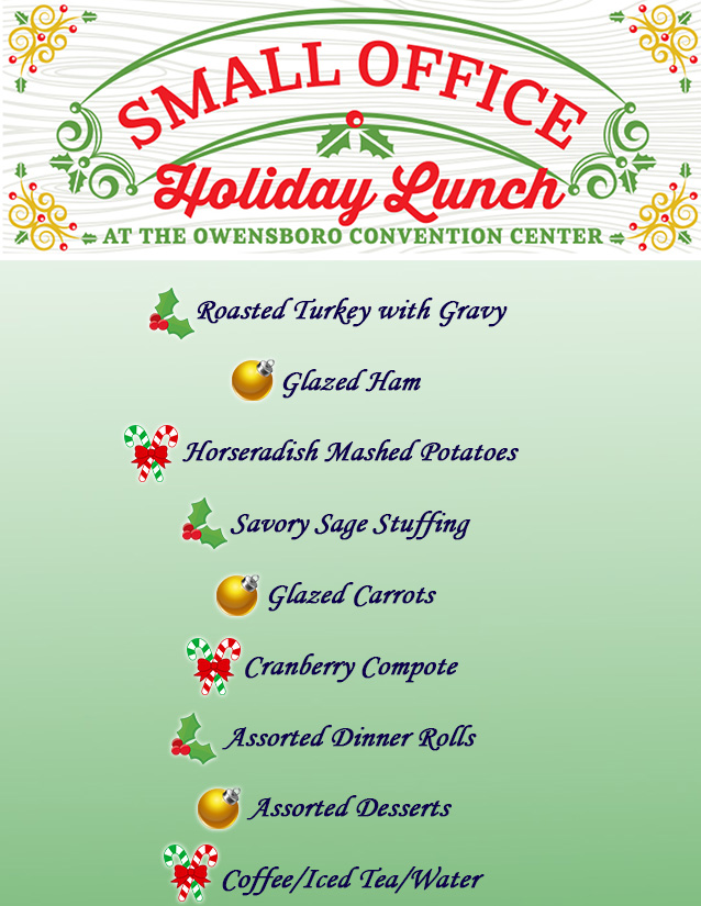 Small Office Holiday Lunch 2017