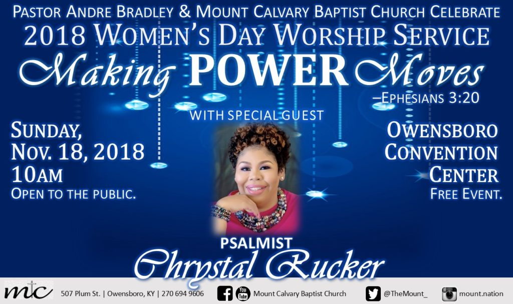 Mt. Calvary Baptist Church - 2018 Women's Day Worship Service