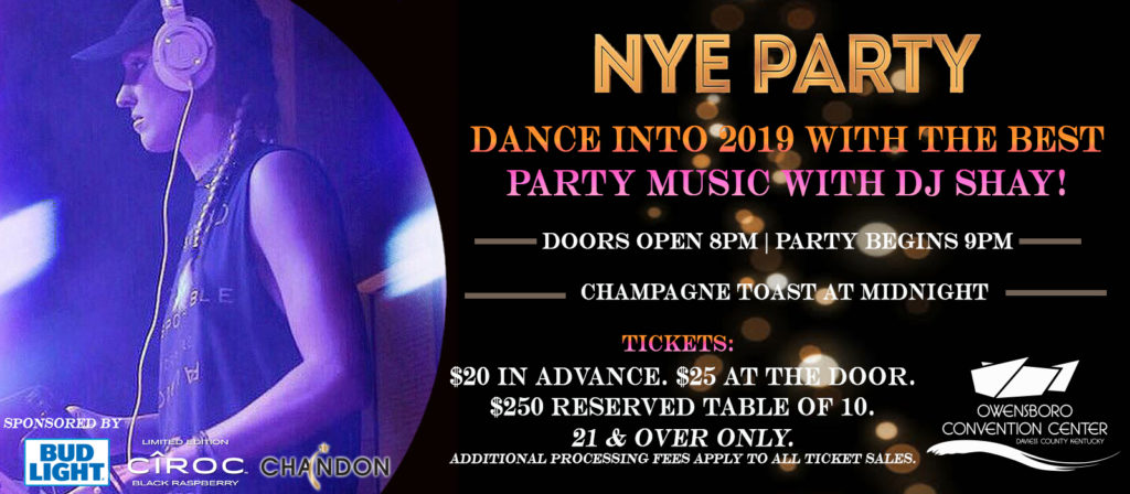 New Year's Eve Party 2018!