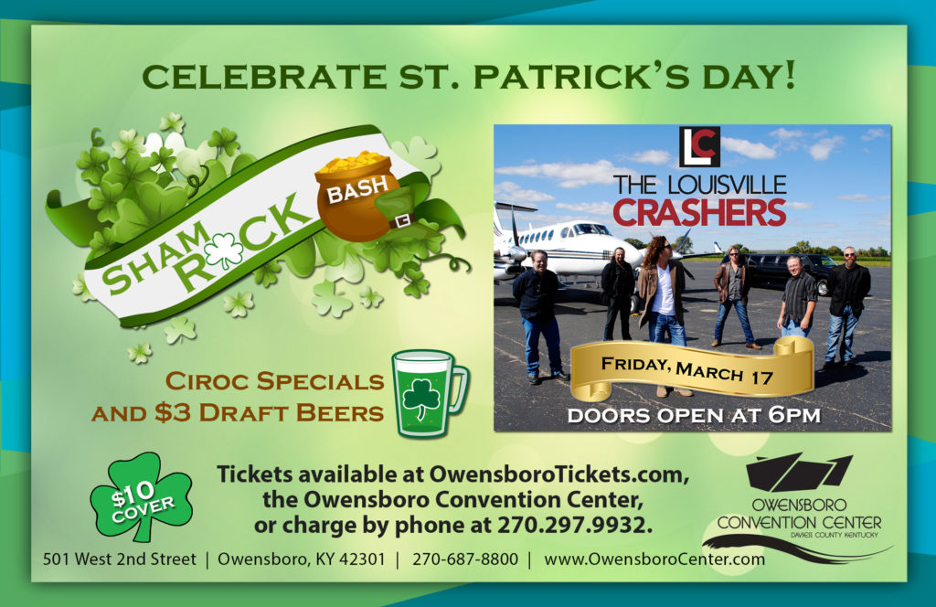 ShamROCK Bash with the Louisville Crashers