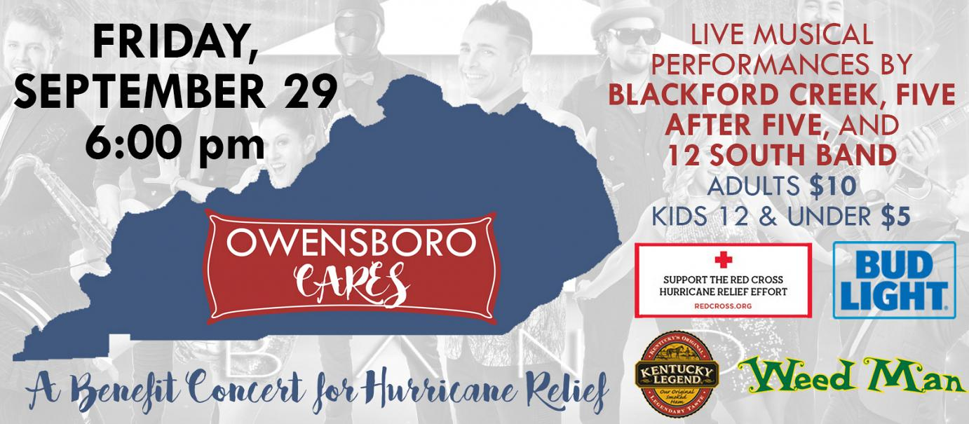 Owensboro Cares – A Benefit Event for Hurricane Relief