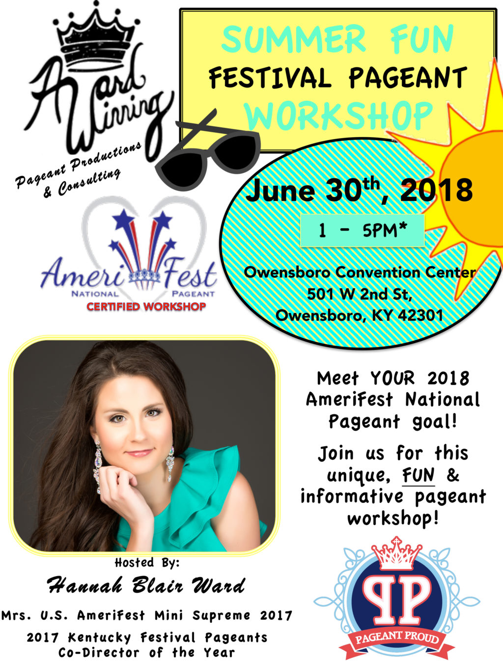 Summer FUN Festival Pageant Workshop