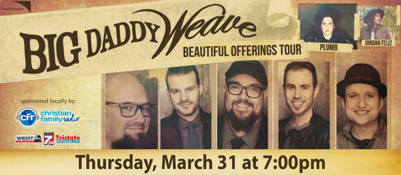 Big Daddy Weave Beautiful Offerings Tour