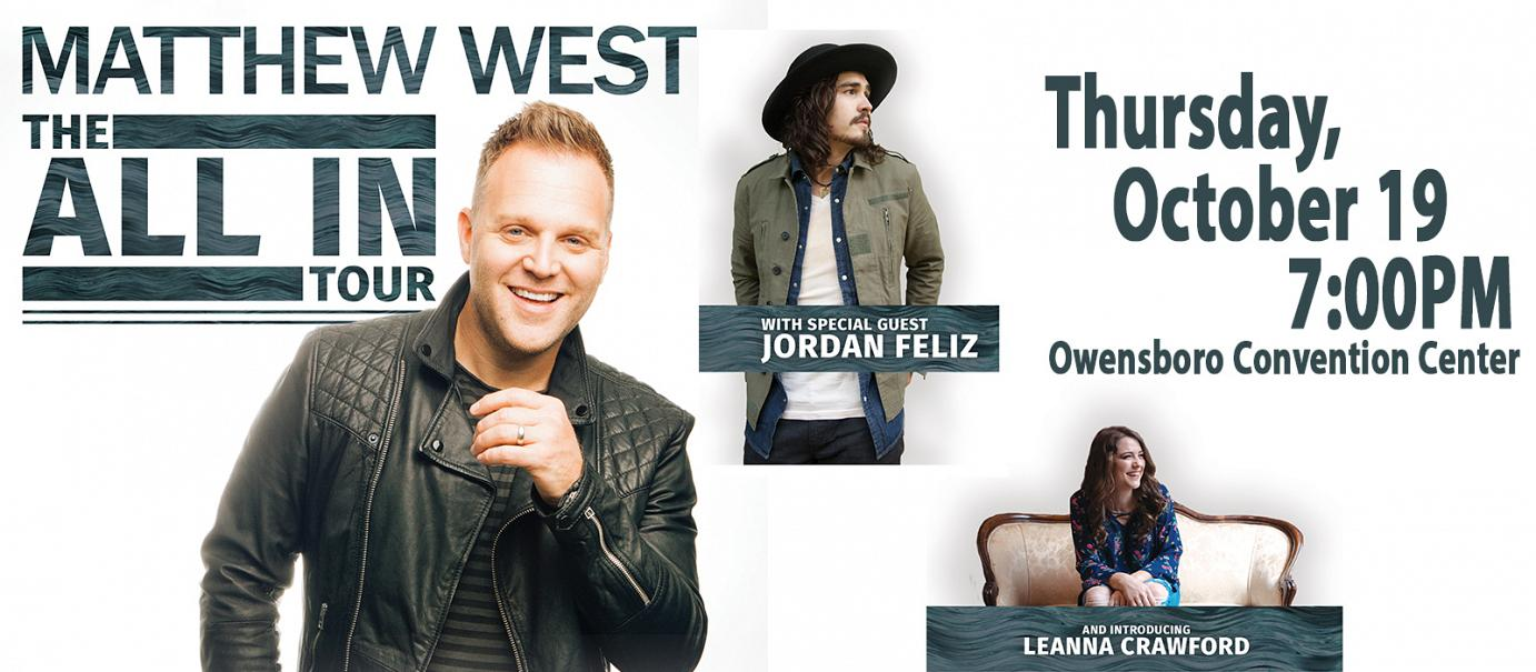 Matthew West – All In Tour