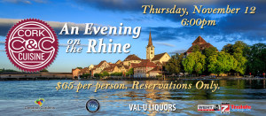 Cork & Cuisine - An Evening on The Rhine @ Owensboro Convention Center | Owensboro | Kentucky | United States