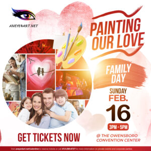 An Eye 4 Art Paint & Sip Party - Painting Our Love (Family Day)
