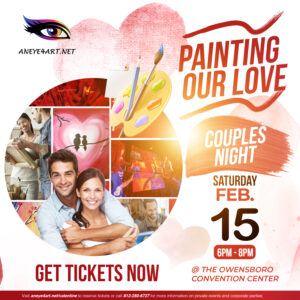 An Eye 4 Art Paint & Sip Party - Painting Our Love (Couples Night)