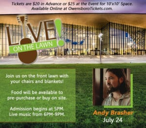 Live on the Lawn - Andy Brasher
