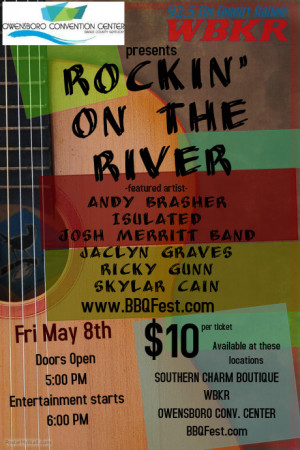 2015 BBQ Fest Rockin' on the River @ Owensboro Convention Center | Owensboro | Kentucky | United States