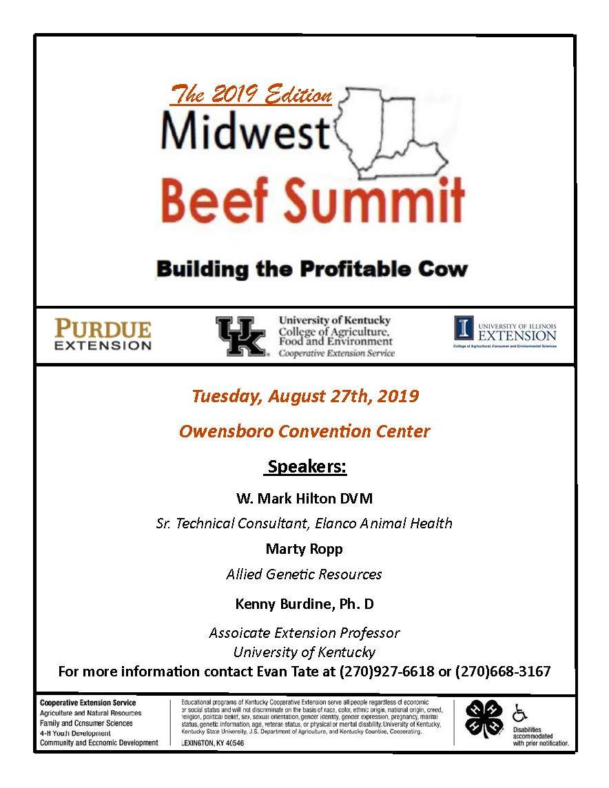 2019 Midwest Beef Summit