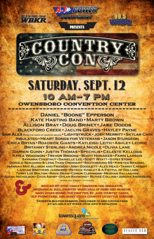 country con - updated list