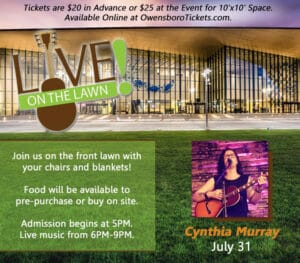 Live on the Lawn - Cynthia Murray