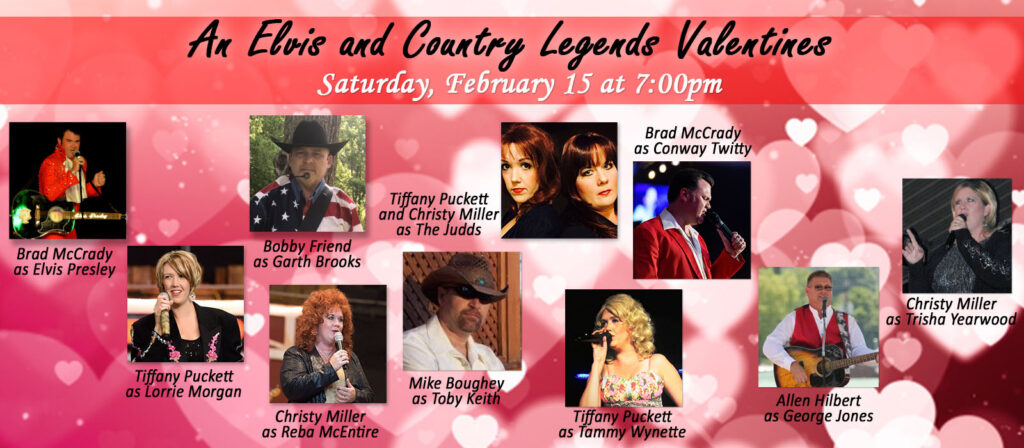 An Elvis and Country Legends Valentines