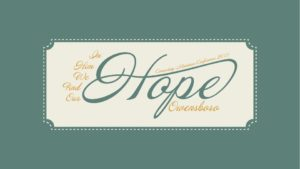 Connecting Women Conference 2017 - Hope