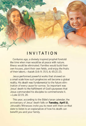 Memorial of Jesus' Death - West Congregation of Jehovah's Witnesses