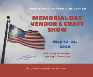 CANCELLED Memorial Day Vendor and Craft Show