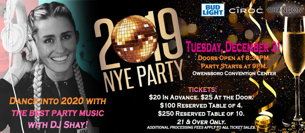 New Year's Eve Party 2019!