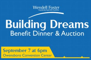 Wendell Foster's Building Dreams: 2019 Annual Benefit Dinner & Auction